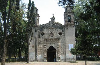"Coyoacán - ""La Conchita"" church in La Concepción"