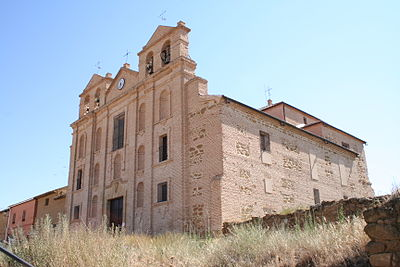 Convento de la Merced, founded in 1607, is a Merecedarian convent, which now serves as a church, in the small town of Valdunquillo, in northern Castile. Iglesia de Valdunquillo.jpg