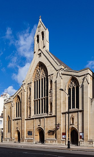 Holy Trinity Church, South Kensington - The exterior of the church on Prince Consort Road