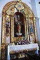 Igreja de Nossa Senhora das Dores, altar leteral 4 Criação velha, concelho da Madalena, ilha do Pico, Açores, Portugal.JPG