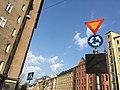 Illuminated tram sign (42875056460).jpg