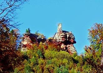 Château de Lutzelhardt - The ruins of Château de Lutzelhardt