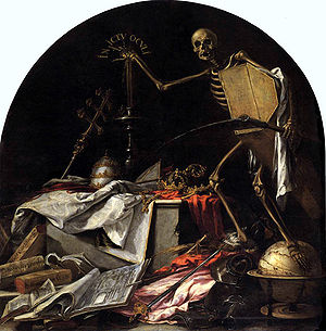 "Spanish Golden Age - In ictu oculi (""In the blink of an eye""), a vanitas by Juan de Valdés Leal"