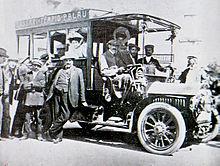 Autobus in Sardegna nel 1907