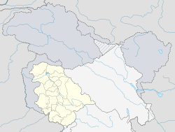 Kupwara is located in Jammu and Kashmir