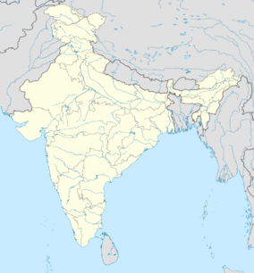 Map showing the location of Sundarbans National Park of India
