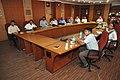 Indranil Sanyal Presenting Case Studies On Sardar Patel Exhibition Making - NMST Delegates Visit NCSM - Kolkata 2017-06-19 2238.JPG