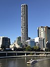 Infinity Tower, seen from William Jolly Bridge, Brisbane 02.jpg