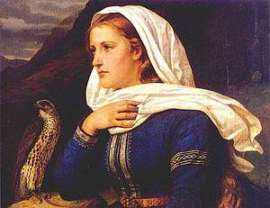 Frithiof's Saga - Ingeborg   Peter Nicolai Arbo