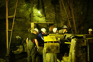 Trepča Mines - Inside The Trepča Mine