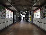 Inside view of Narita Station.JPG