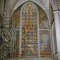Interieur, noorder transept, muurschilderingen en gebrandschilderd raam - Zieuwent - 20347206 - RCE.jpg