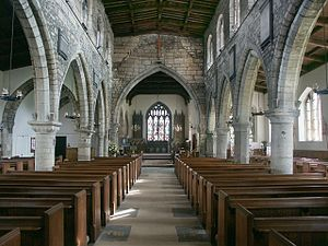 Haxey - Image: Interior of St Nicholas, Haxey geograph.org.uk 465800