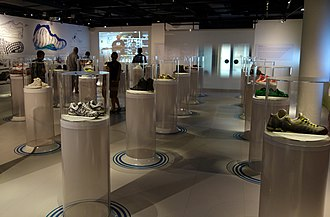 Bata Shoe Museum - Galleries of the museum's collection are displayed throughout the museum.