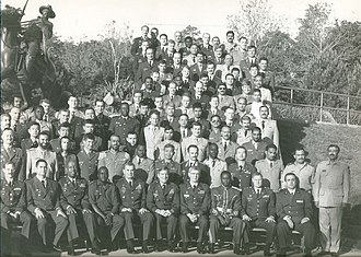 United States Army Command and General Staff College - Image: International students, class of 1998 99 (United States Army Command and General Staff College, Fort Leavensworth, Kansas)