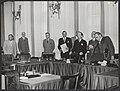 Intrekken ontslagaanvraag kabinet Drees-2., Bestanddeelnr 079-0734.jpg