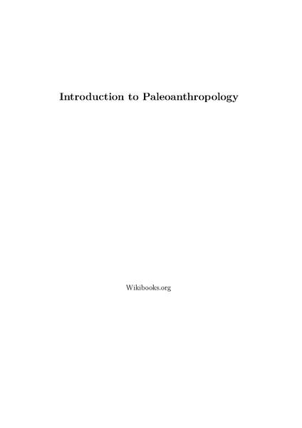 File:Introduction to Paleoanthropology.pdf