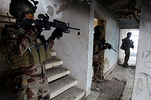Iraqi Special Operations Forces - Image: Iraqi Special Operations Forces (ISOF) training 2011