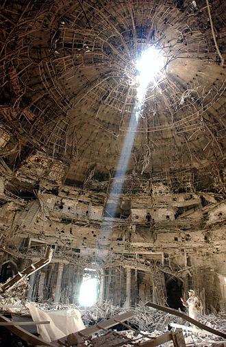 Monolithic dome - Image: Iraqi dome