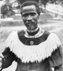 Isaiah Shembe - Wikipedia