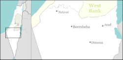 Israel outline north negev