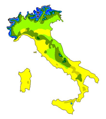 Italia Climatica Cartina.Clima Italiano Wikiwand