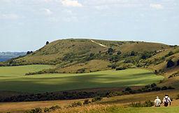 Ivinghoe Beacon seen from The Ridgeway