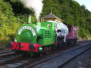 Ivor the Engine at the Battlefield Line Railway August 2007.jpg
