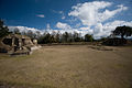 Iximche - Temple 2 and the Skull Place Platform (3679346604).jpg
