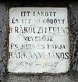 János Bárkányi plaque Szolnok Szent István tér2.jpg
