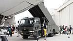 JASDF Mobile open gangways(Nissan Diesel Condor) at Komaki Air Base March 13,2016 02.JPG