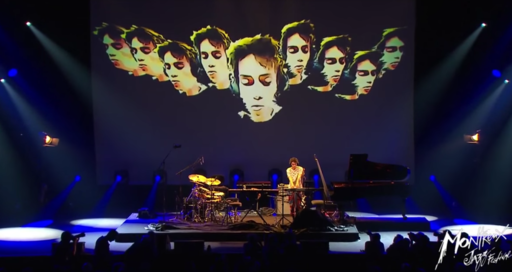 Jacob Collier performing at Montreux Jazz Festival