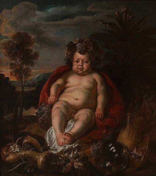 Jacob Jordaens - Bacchus as a child - Google Art Project