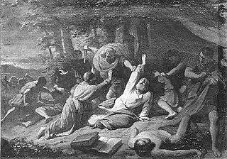 Anno 754. De martelaarsdood van Bonifacius te Dokkum