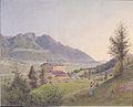 Jakob Alt - Schloss Ambrass in Tirol - 1844.jpeg
