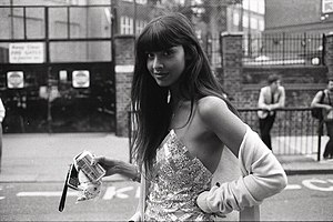 Jameela Jamil - Jameela Jamil at London Fashion Week in 2009