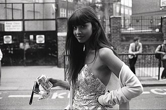 Jameela Jamil - Jameela Jamil at London Fashion Week in 2009