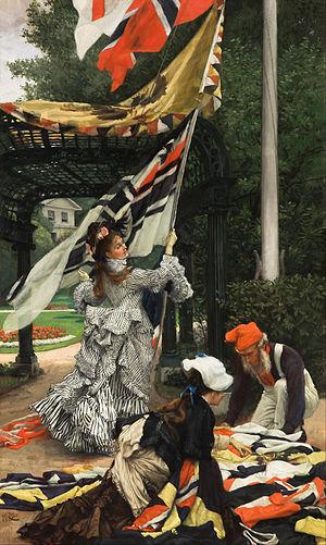 James Tissot -  Still on Top, 1873