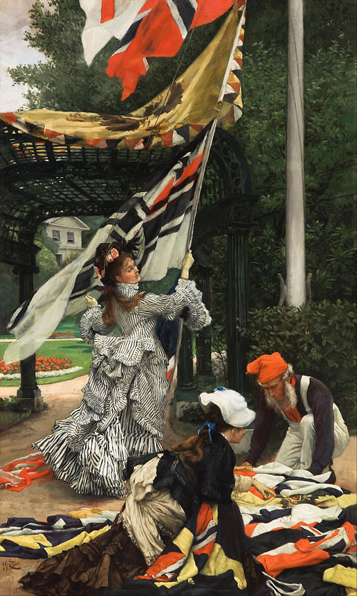 """Still on Top"" by James Tissot"