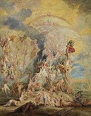 Auferstehung der Seligen mit Peter Paul Rubens (?)
