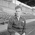 Jan van Schijndel (SVV) in het Olympisch Stadion in Amsterdam, enige dagen na de, Bestanddeelnr 191-1082.jpg