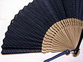 Japanese fan with Ojiya-chijimi.jpg