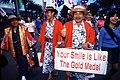 Japanese spectators at 2000 Summer Olympics 2000-09-28.JPEG