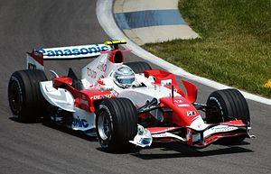 Toyota TF107 - Image: Jarno Trulli 2007 USA (cropped)