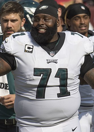 Jason Peters - Peters with the Philadelphia Eagles in 2017