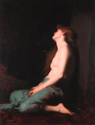Solitude, Jean-Jacques Henner