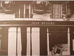 Eileen Gray - The Jean Desert shopfront