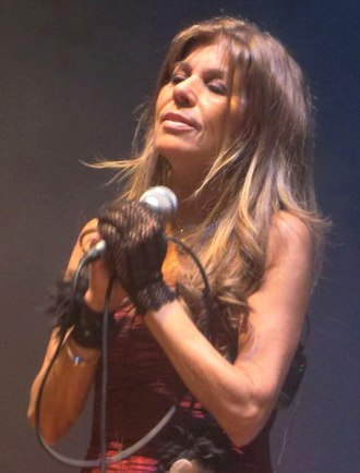 Corazón de poeta - Jeanette performing in Arequipa, Peru in 2014.