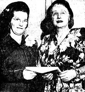 Mab Copland Lineman - Jeannie Dean Murphy and Mab Copland Lineman