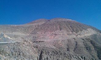 Musandam Peninsula - Image: Jebel Jais, Tallest Mountain of UAE 02